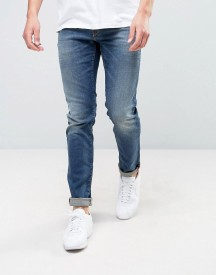 Jack & Jones Slim Fit Jeans In Blue Wash afbeelding