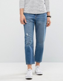 Kiomi Tapered Fit Jeans With Cropped Leg afbeelding