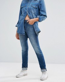 Lee Elly Slim Straight Mid Rise Jeans afbeelding