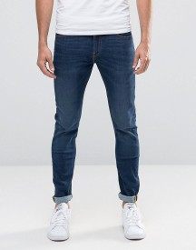 Lee Jeans Malone Superstretch Super Skinny Fit Blue Notes Mid Wash afbeelding