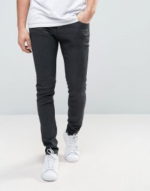 Lee Malone Super Skinny Jeans Black Coated afbeelding