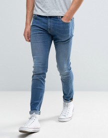 Lee Malone Super Skinny Jeans Common Blue afbeelding