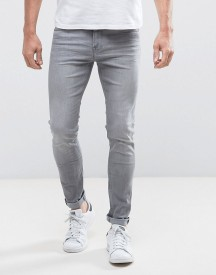 Lee Malone Super Skinny Jeans Summer Grey afbeelding