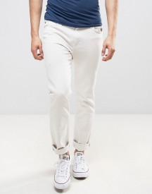Lee Rider Slim Fit Jeans Off White Wash afbeelding