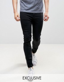 Lee Spray On Power Stretch Jeans Black Wash Exclusive afbeelding