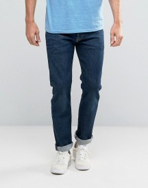 Levis 501 Original Straight Fit Jeans Dark Blue Wash afbeelding