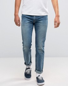 Levis 511 Slim Fit Jeans Studio Record Mid Wash afbeelding