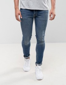 Levis 519 Extreme Skinny Fit Jeans Williamsburg Wash afbeelding