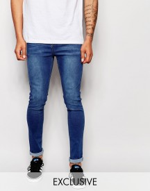 Liquor & Poker Jeans Stretch Skinny Fit Mid Indigo afbeelding
