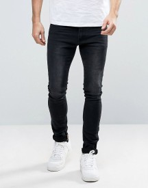 Liquor N Poker Skinny Jeans Embroidered Taping afbeelding