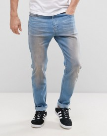 Liquor & Poker Slim Jeans Dirty Wash afbeelding