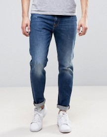 Love Moschino Regular Fit Mid Wash Blue Jeans afbeelding