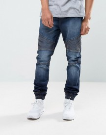 Loyalty And Faith Garrett Jogger Jeans In Indigo Wash afbeelding