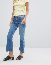 New Look Kick Flare Frayed Hem Jeans afbeelding
