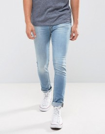 New Look Skinny Jeans In Light Wash Blue afbeelding