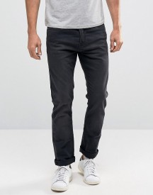 New Look Slim Jeans In Black Wash afbeelding