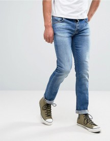 Nudie Jeans Co Grim Tim Jean Orange Cloud Wash afbeelding