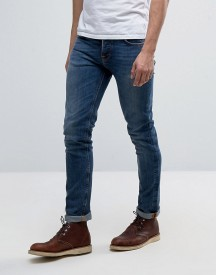 Nudie Jeans Co Grim Tim Jean Shaded Blue Wash afbeelding