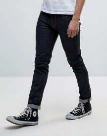 Nudie Jeans Co Lean Dean Jean Dry Slow Dark Wash afbeelding