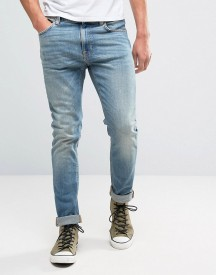 Nudie Jeans Co Lean Dean Jean Silver Lake Wash afbeelding
