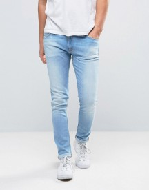 Nudie Jeans Co Skinny Lin Jean Fresh Breeze Wash afbeelding