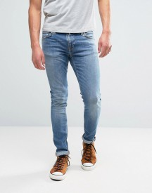 Nudie Jeans Co Skinny Lin Jean Pure Breeze Wash afbeelding