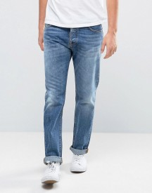 Nudie Jeans Co Steady Eddie Jean Crispy Crumble Wash afbeelding
