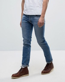 Nudie Jeans Co Tilted Tor Jean Indigo Spirit Wash afbeelding