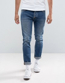 Nudie Jeans Co Tilted Tor Jean Skinny Fit Shackled And Blue Mid Wash afbeelding