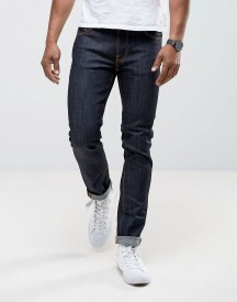 Nudie Jeans Ecru Embro Thin Finn Slim Fit Jeans In Organic Dry afbeelding