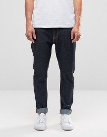 Nudie Brute Knut Drop Crotch Extreme Tapered Jeans Dry Navy afbeelding