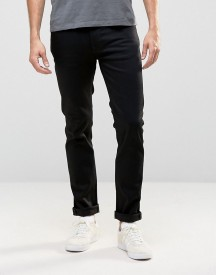 Nudie Thin Finn Slim Jeans Dry Cold Black afbeelding
