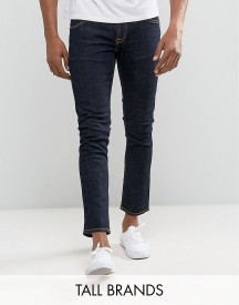 Nudie Jeans Tall Tight Long John Skinny Jeans Twill Rinsed Wash afbeelding
