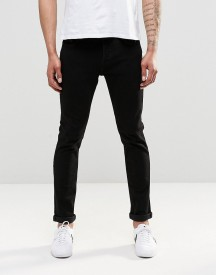 Only & Sons Black Slim Fit Jeans With Stretch afbeelding