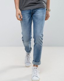 Replay Anbass Stretch Slim Jeans Light Stone Wash afbeelding
