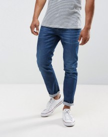 Replay Anbass Stretch Slim Jeans Mid Wash Metal Blast afbeelding