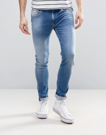 Replay Jondrill Skinny Fit Jeans Light Wash afbeelding