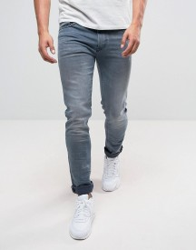 Replay Jondrill Skinny Stretch Jeans Grey Wash afbeelding