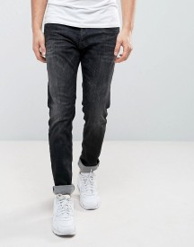 Replay Thyber Slim Taper Powerstretch Washed Black afbeelding