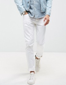 Saints Row Skinny Fit Jeans In White afbeelding