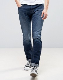 Sisley Slim Fit Jeans In Washed Indigo afbeelding