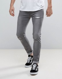 Soul Star Skinny Stretch Rip Jeans afbeelding