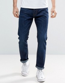 Threadbare Riley Skinny Fit Mid Wash Jeans afbeelding