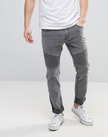 Troy Biker Jeans In Slim Fit afbeelding