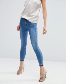 Vila Skinny Jeans With Contrast Trim afbeelding