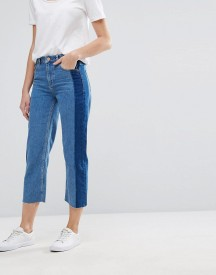 Warehouse Stripe Detail Cropped Jeans afbeelding