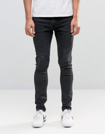 Weekday Form Super Skinny Jeans Washed Grey afbeelding