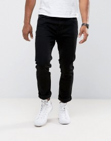 Weekday Jeans Wednesday Slim Fit Black afbeelding