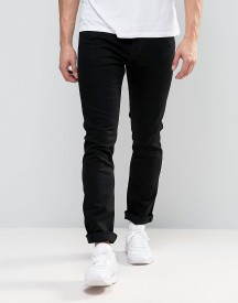 Weekday Wednesday Slim Stretch Fit Jeans 2black Wash afbeelding