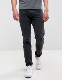 Weekday Wednesday Slim Stretch Fit Jeans Great Black Wash afbeelding